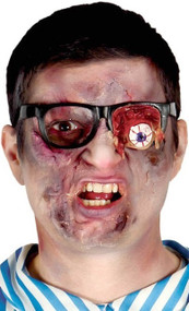 Adult Zombie Eye Fancy Dress Glasses