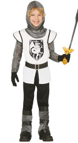 Boys Brave Knight Fancy Dress Costume