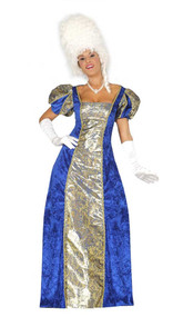 Ladies Rich Georgian Fancy Dress Costume