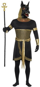 Mens Anubis Fancy Dress Costume