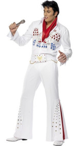 Mens American Eagle Elvis Fancy Dress Costume