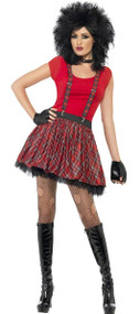 Ladies Instant Punk Fancy Dress KIt