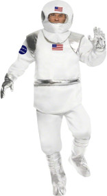 Mens American Astronaut Fancy Dress Costume