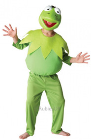 Boys Kermit the Frog Fancy Dress Costume
