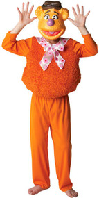 Boys Fozzy Bear Fancy Dress Costume
