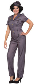 Ladies Air Force Fancy Dress Costume