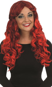 Ladies Long Red Temptress Wig