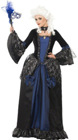 Ladies Baroque Beauty Fancy Dress Costume