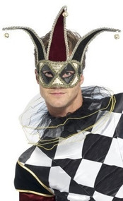 Adult Gothic Harlequin Mask