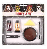 6 Piece Zombie Make Up Kit
