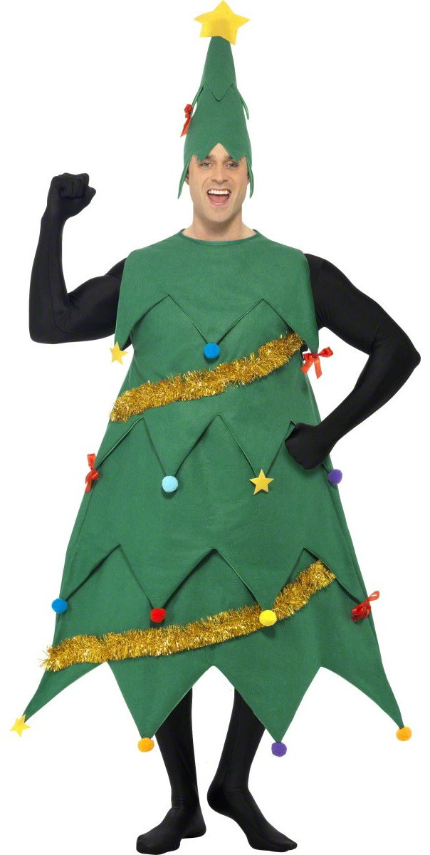 0dacbd60750e Adult Deluxe Christmas Tree Fancy Dress Costume - Fancy Me Limited