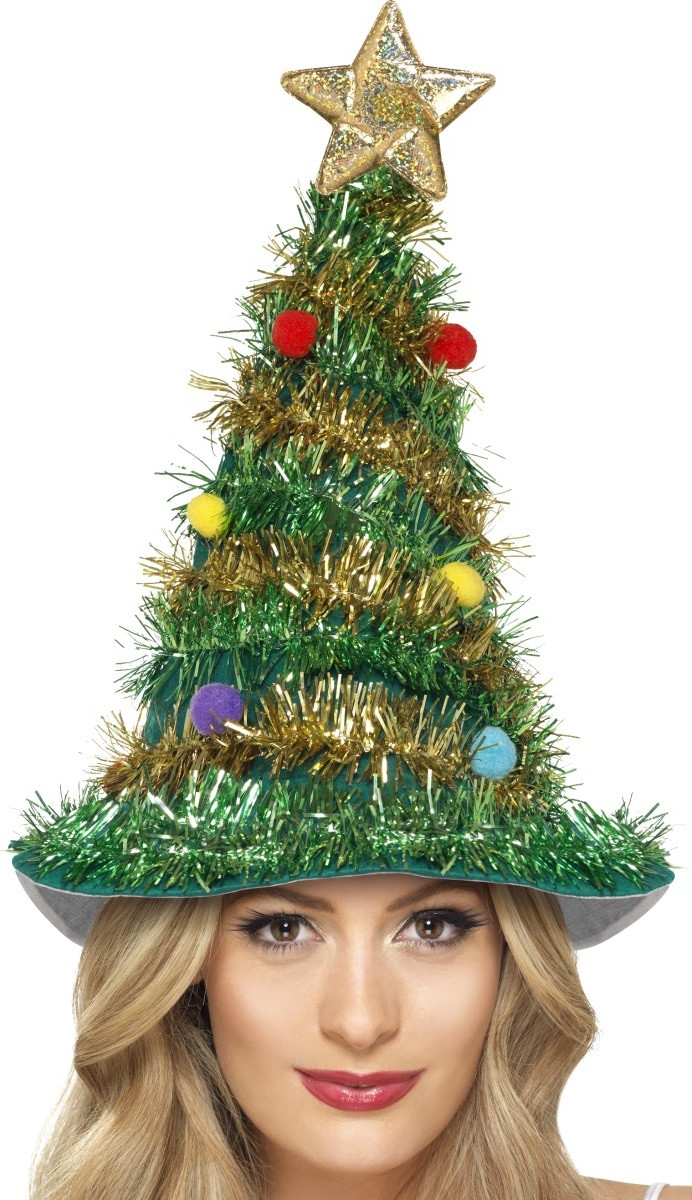 15105f83504d Adult Deluxe Christmas Tree Hat - Fancy Me Limited