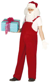 Mens Workshop Santa Fancy Dress Costume