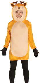 Adult Reindeer Mascot Fancy Dress Costume