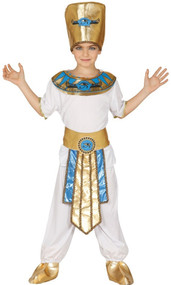 Boys Ancient Egyptian Fancy Dress Costume