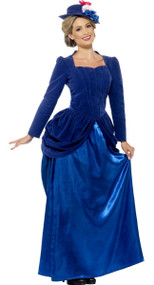 Ladies Victorian Beauty Fancy Dress Costume