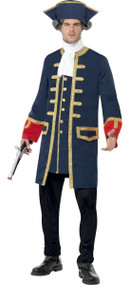 Mens Lord Admiral Fancy Dress Costume