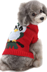 Dog Owl Sweater