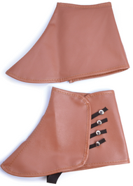 Mens Brown Steampunk Spats
