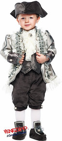 Boys Count of Monte Cristo Fancy Dress Costume