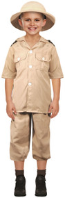 Boys Safari Explorer Fancy Dress Costume