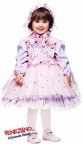 Girls Dainty Doll Fancy Dress Costume