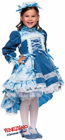 Girls French Aristocrat Fancy Dress Costume