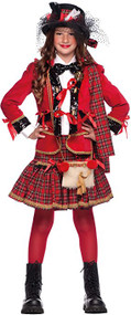Girls Scottish Fancy Dress Costume