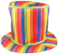 Adults Rainbow Pride Top Hat