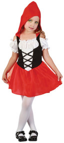 Toddler Little Red Riding Hood Fancy Dress Costume