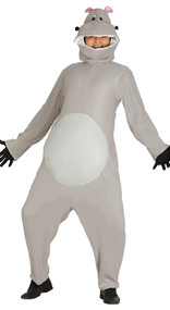 Adult Hippo Fancy Dress Costume