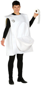 Adult Toilet Fancy Dress Costume