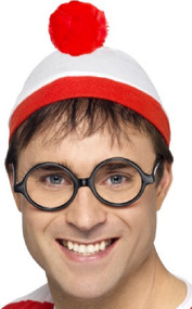 Where's Wally Fancy Dress Costume Kit