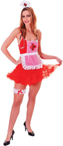 Ladies Deluxe Nurse Fancy Dress Kit