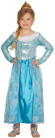 Girls Ice Queen Fancy Dress Costume 1