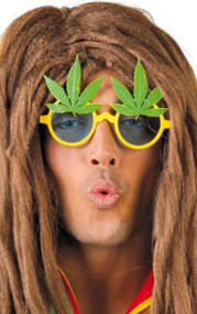 Mens Rasta Cannabis Glasses