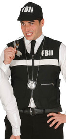 Mens FBI Fancy Dress Costume Kit