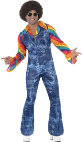 Mens 70's Groovy Dancer Fancy Dress Costume