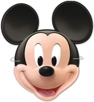 6 Pack of Mickey Mouse Party Masks
