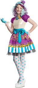Girls Madeline Hatter Fancy Dress Costume