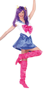 Ladies Sailor Girl Fancy Dress Costume 1