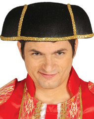 Mens Bull Fighter  Fancy Dress Hat
