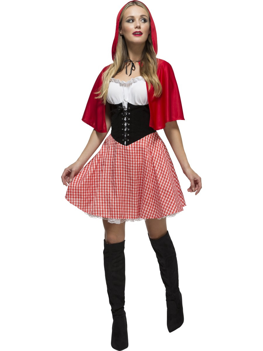 Fun Costumes Deluxe Red Riding Hood Plus Size Fancy dress ...