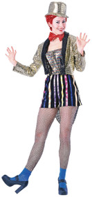 Adults Rocky Horror Columbia Fancy Dress Costume