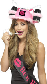 Ladies Hen Night Pink Drinks Hat