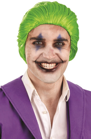 Mens Comic Book Villain Fancy Dress Costume Wig