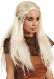 Ladies Queen Of Dragons Fancy Dress Wig