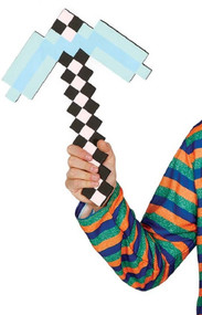 Boys Pixel Axe Fancy Dress Accessory