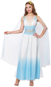 Ladies Roman Empress Fancy Dress Costume 1