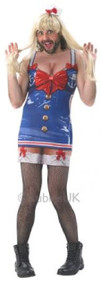Mens Saucy Sailor Fancy Dress Costume